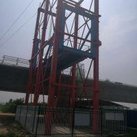 路桥高架施工专用水泥罐车登高装卸平台