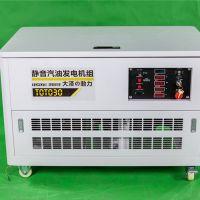 大泽品牌30千瓦汽油发电机