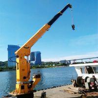 小型船用起重机 3吨船吊 直臂式船吊