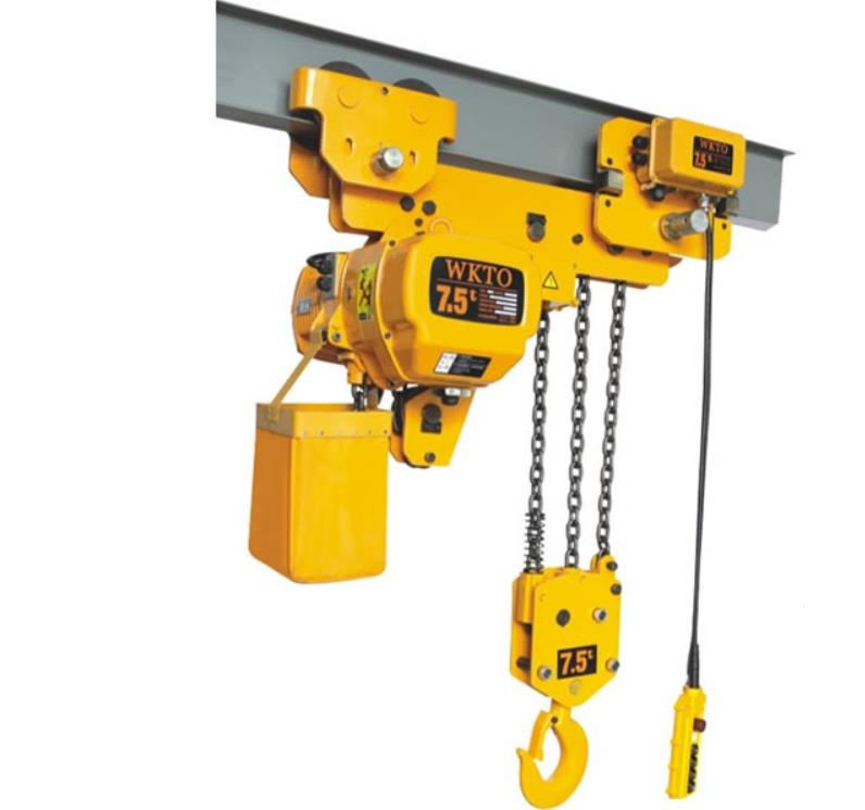 未来重工超低吊型环链电动葫芦