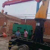 冀恒扇贝养殖船吊 改装随车吊专用吊臂 楼房吊