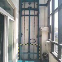 成都单钢升降货梯