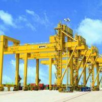 海南海口MJ型轨道集装箱门式起重机