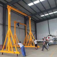 海门手推移动式小型龙门吊制造安装
