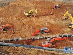 河北唐山:中俄东线天然气管道工程河北丰润段加紧建设