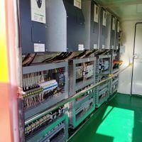 河南长垣起重机专用全车变频电气室圣斯电气