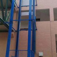 我们导轨货梯使用现场图片方博智能起重