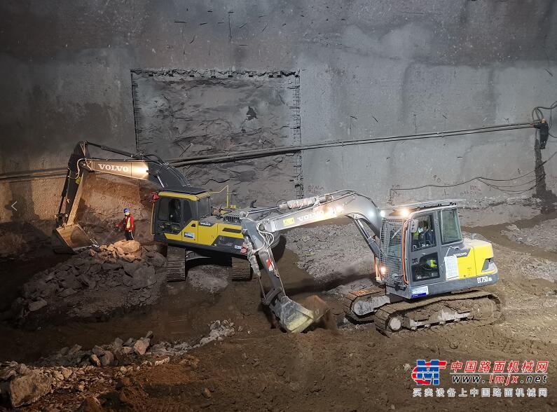 卡纳磨拓与沃尔沃携手进入重庆地铁项目