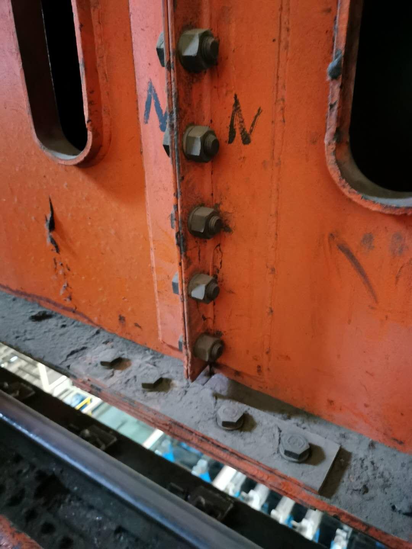 起重机天车开裂修复维修