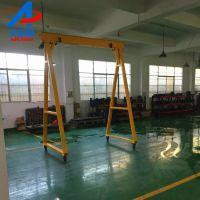 简易起重行吊工字钢吊架注塑机上料龙门架艾锐森厂家供应