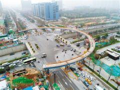 曲江南三环环形天桥力争全运会前完工