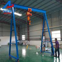 深圳工地起重吊架-2吨电动龙门架-可免费送货上门安装