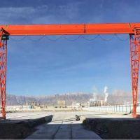 广州5吨葫芦门式起重机安装