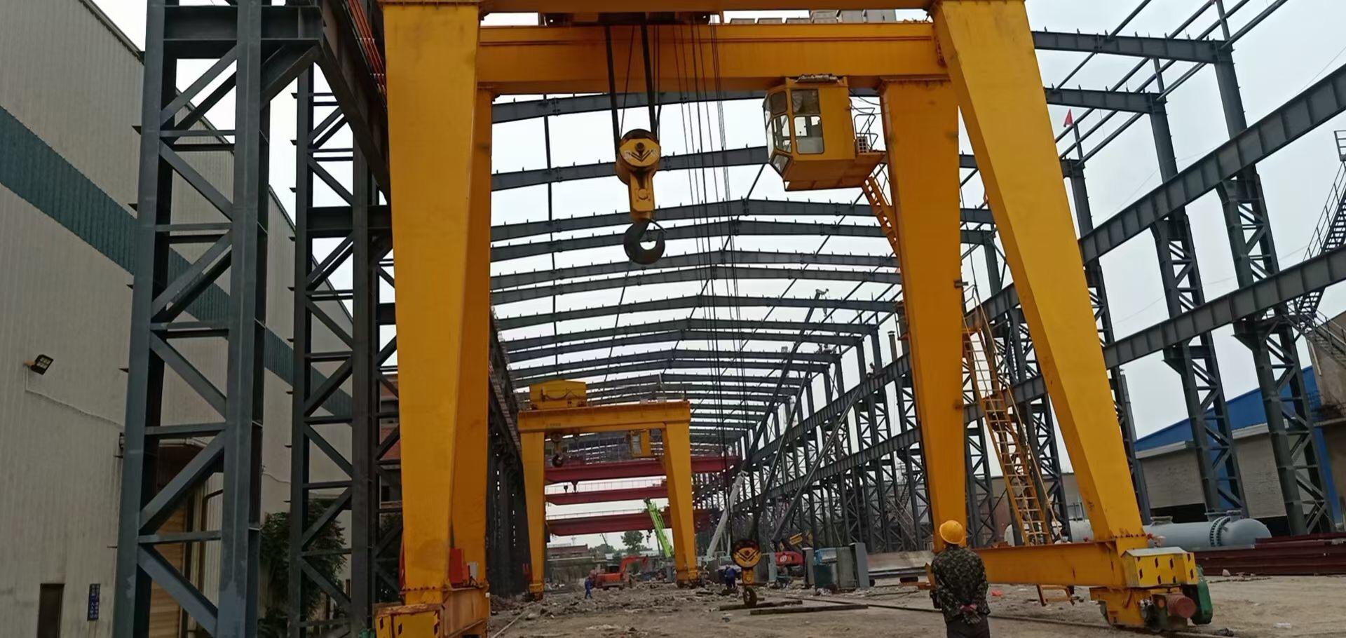 西安100吨龙门吊专业厂家安装